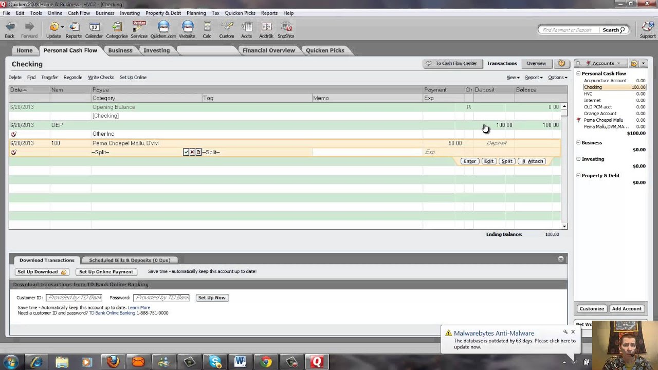 How To Use Quicken In Your Business YouTube - Quicken home and business invoices