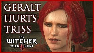 The Witcher 3: Geralt Leaves Triss Merigold When She Needs Him Most