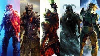 Battlefield X Dark Souls X Dragon Age X Skyrim X Halo | Theme Mashup