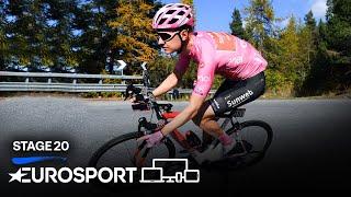 Giro d'Italia 2020 - Stage 20 Highlights | Cycling | Eurosport