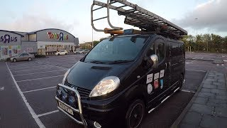An Electricians Day in London - ***The Van Tour***