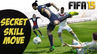 FIFA 15 SECRET SKILL MOVE GLITCH TUTORIAL / HIDDEN DRIBBLE / UNLISTED TRICK / SPECIAL COMBO