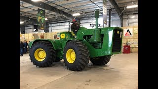 1961 John Deere 8020 4WD Tractor Sold for Record Price Today on Iowa Auction