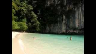 Тайланд,на этом пляже  снимался фильм Джунгли