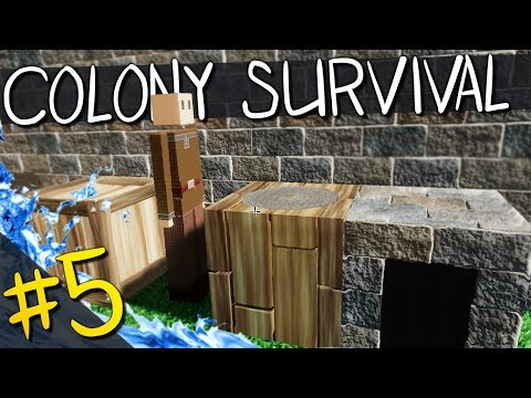 Colony Survival | PART 5 | FLOODING THE MINE