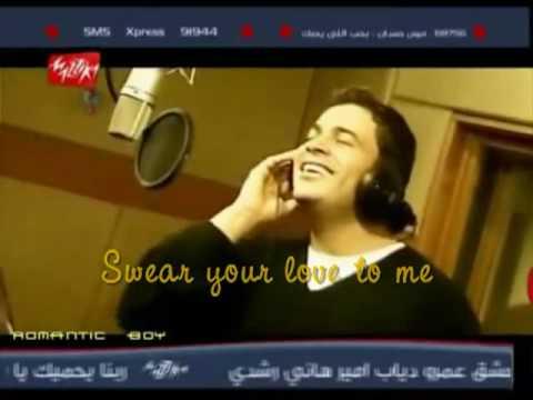 Amr Diab Ft Angela Dimitrou  Ana bahebak Aktar [ English Subtitles ].flv
