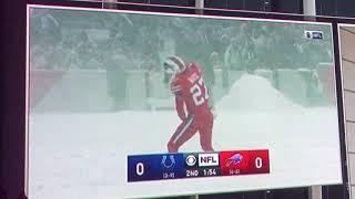 Buffalo Bills Tre White LOVES Lowe's!!