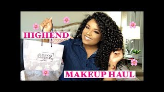 HIGHEND MAKEUP HAUL!