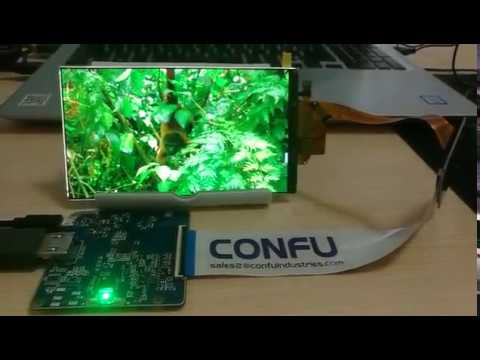 Confu hdmi to mipi dsi driver board China Sharp 5 5 inch 2k 2560x1440 mipi  DSI interface LCD display