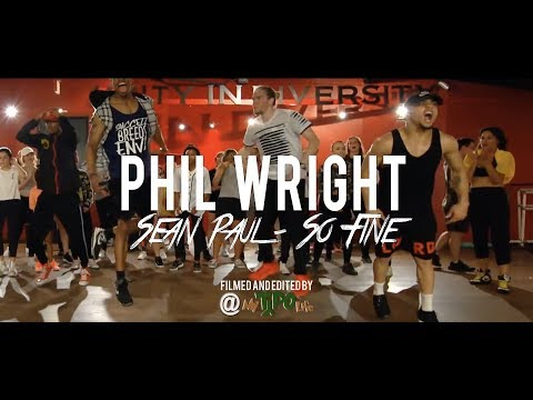 Sean Paul  So Fine  Phil Wright Choreography  Ig : @philwright