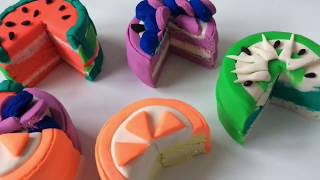 PlayDoh Play and Learn Video for Kids#Dolls Food PlayDoh VIDEO