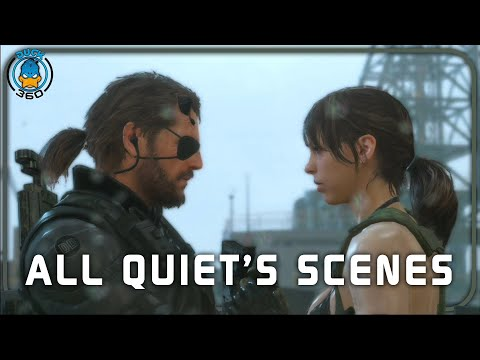 Metal Gear Solid V The Phantom Pain: All Quiet's Scenes + Ending(PS4/1080p)