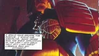 Judge Dredd: America - as read by Karl Urban at Dallas Comic Con