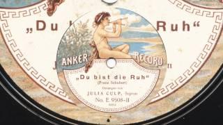 Julia Culp: Du bist die Ruh