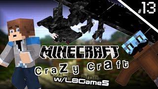 Crazy Craft w/L8Games! [Episode #13] NIGHTMARE CREATURES!? [ Minecraft Modded Survival ]
