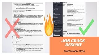 how to make resume in 5min | for fresher