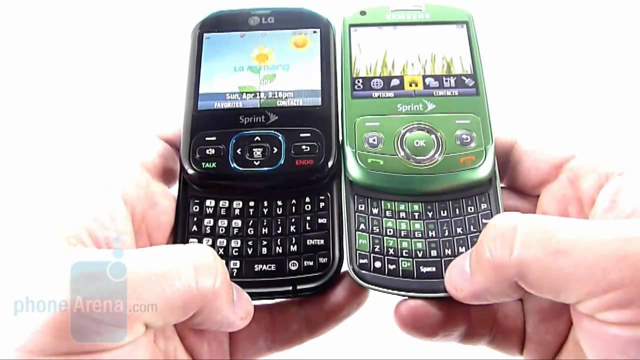 lg remarq ln240 youtube rh youtube com Sprint Basic Phones Samsung Tablet