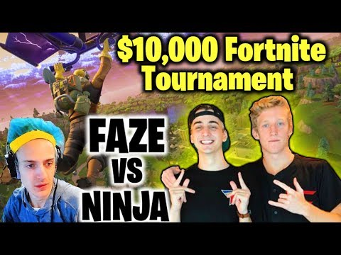 MY BROTHER WON $20,000 PLAYING FORTNITE?!? Faze Tfue & Cloakzy VS Ninja| JOOGSQUAD PPJT