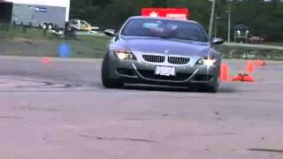 BMW M6 drift