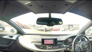360° All Round Interior View of a 2013 Audi A6 Saloon 2 0 TDI S Line Multitronic 4dr DK13KWR