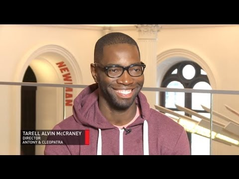 Interview with director Tarell Alvin McCraney | Antony and Cleopatra | Royal Shakespeare Company