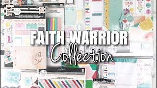 FAITH PLANNER SETUP Preview + FAITH WARRIOR Happy Planner Girl Collection  At Home With Quita