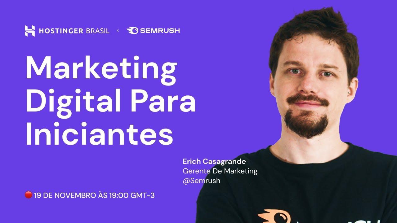 🔴 Marketing Digital Para Iniciantes (AO VIVO)