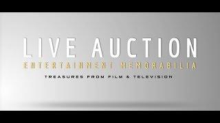 Prop Store Entertainment Memorabilia Live Auction 2017