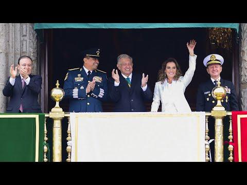 Desfile Militar 2019, desde Ciudad de México.
