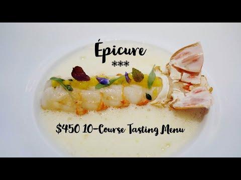 Épicure | $450 10-Course Tasting Menu In One Of The Best Restaurant In Paris