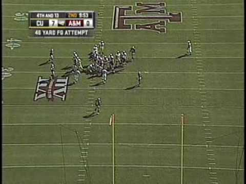 2008 Colorado Football Year in Review: Texas A&M