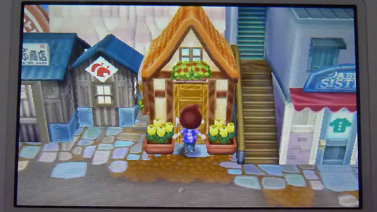 Animal Crossing New Leaf Shopping At The Mall My House And More Youtube