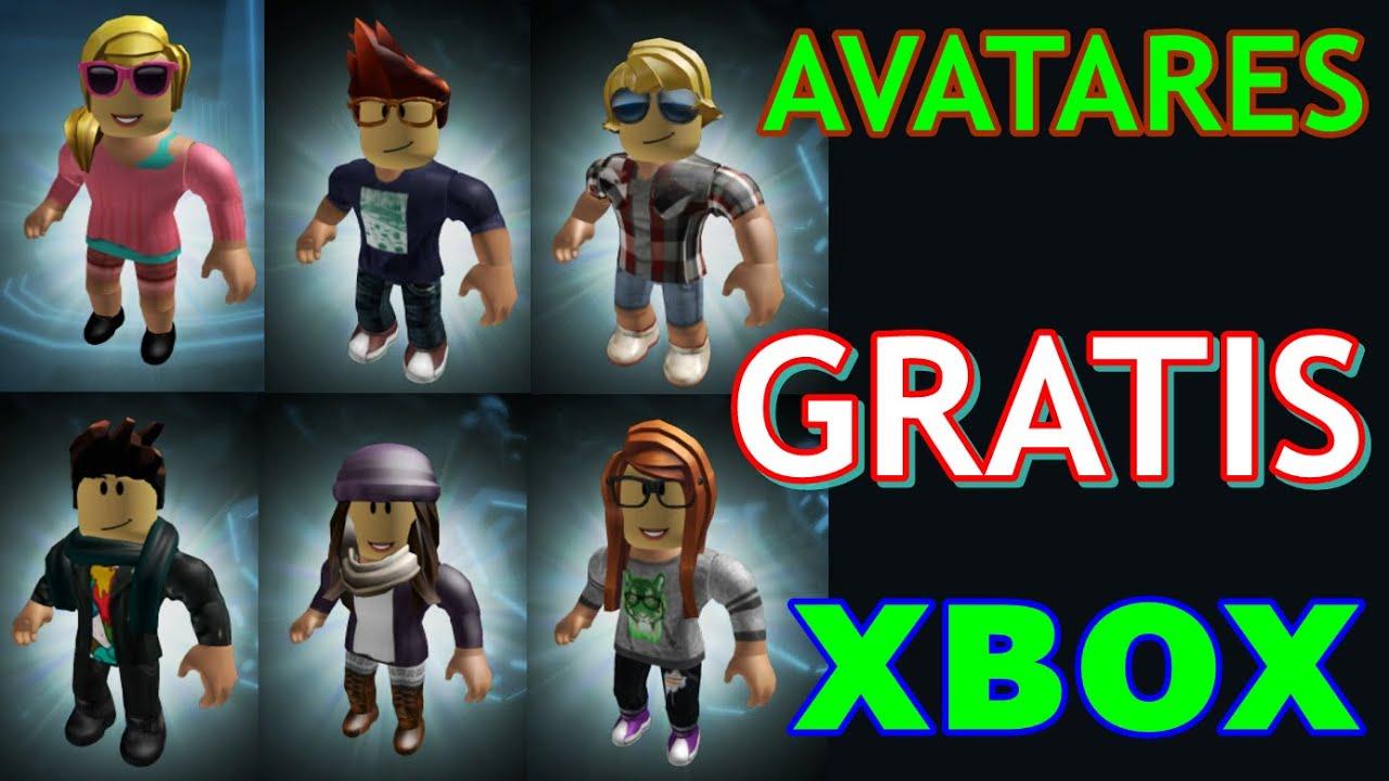 Como Tener Gratis Avatares De Xbox En Tu Cuenta De Roblox Pc Y
