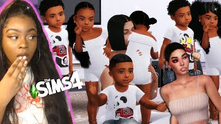 Single Mom of Sextuplets! 👵🏽👊🏽✨ | The Sims 4 LP (4) *Fights & Meet Abuela*