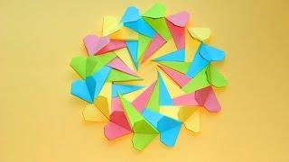 Валентинка, Оригами ???? Подарок на 8 марта