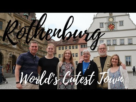 Rothenburg, Germany:  World's Cutest Town