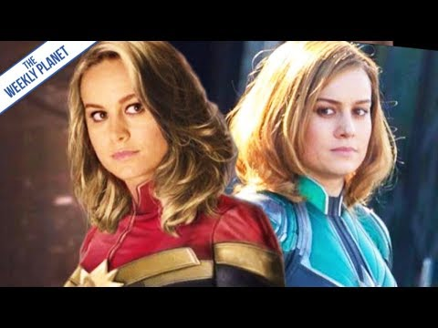What's With Captain Marvel's Weird Costume?