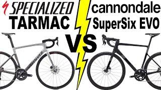 Specialized TARMAC SL7 VS SuperSix EVO 2021 Models!