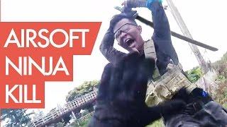 Novritsch Gets Slaughtered By Ninja - Airsoft Katana