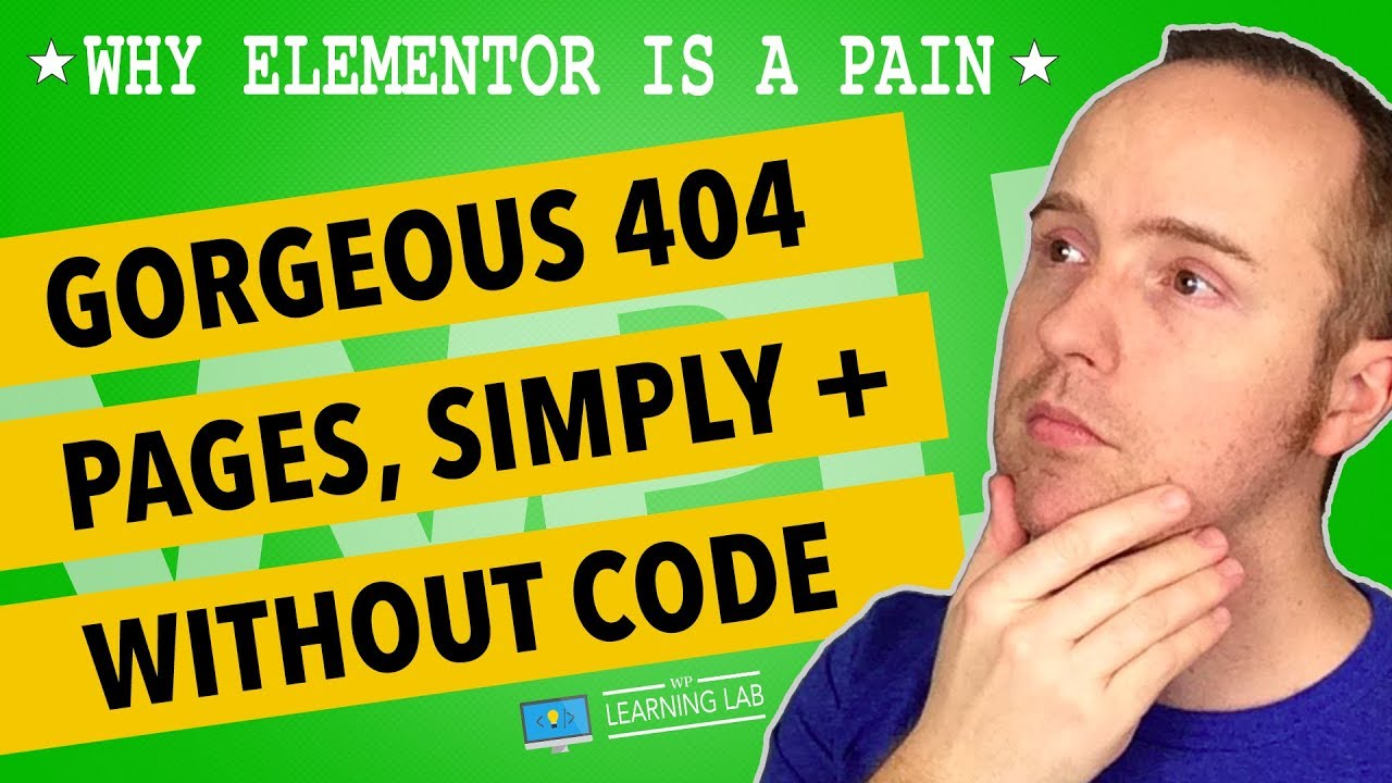 New Feature: Design Elementor 404 Pages Quickly & Easily With No Code
