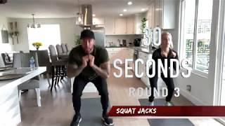 Full Body Workout (1 Pair of Dumbbells)