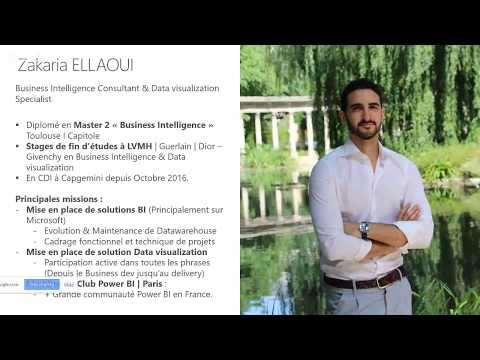 PowerBI MasterClass #1   Zakaria Ellaoui