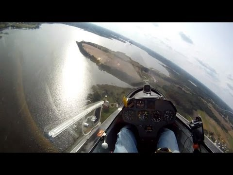 Glider outlanding