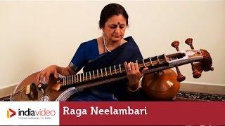 Raga Series: Veena 001 - Raga Neelambari by Jayalakshmi Sekhar (Carnatic classical instrumental)