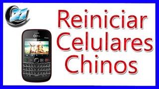 Como Reiniciar Celular Ipro i3181 - Celulares Chinos