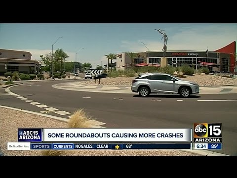 Study: Some traffic roundabouts lead to more crashes in Arizona