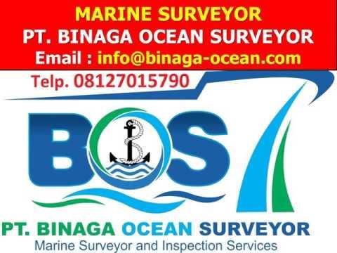 08127015790 (Telkomsel) Marine Surveyor Loading Supervision Survey PT. Binaga Ocean Surveyor