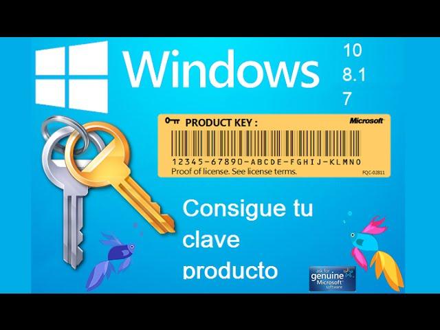 clave del producto windows 10