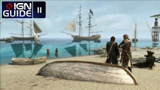Assassin's Creed 4 Walkthrough - Sequence 03 Memory 03: Prizes And Plunder (100% Sync)