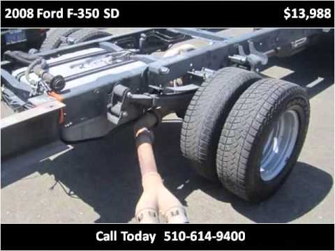 2008 ford f 350 sd used cars oakland san leandro bay area for Cal west motors san leandro ca
